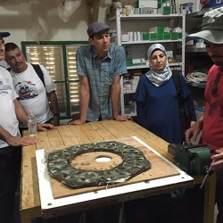 Environmentalists visit the South Hebron Hills